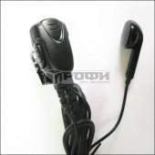 Микрофон JD-1701IL (гарнитура без заушины с угловым разъемом для радиостанций ICOM)