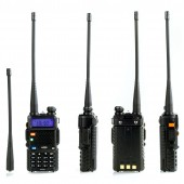 Портативная радиостанция BAOFENG UV-5R ( 136-174/400-480) МГц/ 127 кан./ 5 Вт/1800 мАч/ЗУ