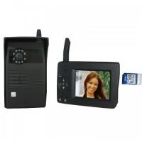 Видео домофон Байкал ДБ-27 беспроводной(класс защ IP-55,ноч.вид.,запись на SD-карту,640*480 VGA)