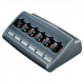 Зарядное устройство MOTOROLA TRBO WPLN4220B многоместное (6 гнезд) с дисплеем