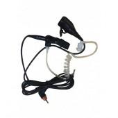 Гарнитура MOTOROLA TRBO PMLN7157A скрытого ношения с акуст. трубкой и РТТ/микрофоном (черная)