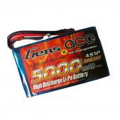 Аккумулятор Gens ACE TATTU LiPo 5000mAh 14.8V 35C 4S1P - XT60