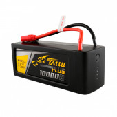 Аккумулятор Gens ACE TATTU PLUS Li-pol 22.2V 10000mAh 25C 6S1P - XT150+AS150