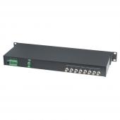 Приемник активный 8 видеосигналов по витой паре, SC T, TPA008A