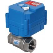 Кран шаровой с электроприводом, Аргус-Спектр, HC12B 1/2 (Стрелец®) сечение 1/2 дюйма