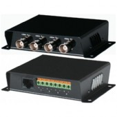 Приемопередатчик 4 видеосигналов по витой паре, SC T, TTP414V