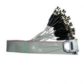 Шлейф для подключения видеосистемы (16 BNC), Инфотех, Жгут для VideoNet