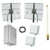 Комплект для передачи видео с подключением до 8 IP-камер, Beward, BR-20-8