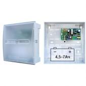 Источник вторичного электропитания резервированный, Бастион, СКАТ 1200Б (пластик)