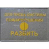 Стекло сменное для ИПР-513-3 исп.02, Болид, Стекло к ИПР 513-3 исп.02