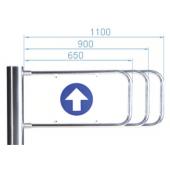 Створка для калитки, PERCo, PERCo-AG-650