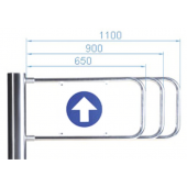 Створка для калитки, PERCo, PERCo-AG-1100
