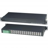 Приемник-разветвитель видеосигналов по витой паре 16 входов 32 выхода, SC T, TPA016AH