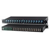 Приемник активный 16 видеосигналов по витой паре, SC T, TPA016H