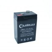 Аккумулятор Байкал-4.5-6 (4,5Ач,-6В) свинцово-кислотный, необслуживаемый герметичный