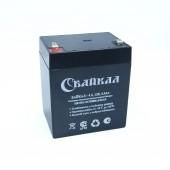 Аккумулятор Байкал-4,5-12 (4,5 Ач, 12В) свинцово-кислотный, необслуживаемый герметичный